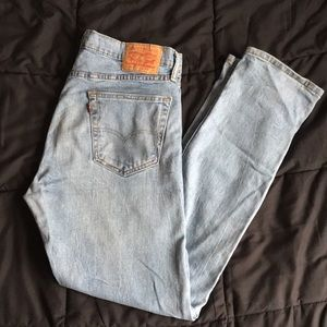 Vintage Levi's 502 Light Wash Blue Jeans